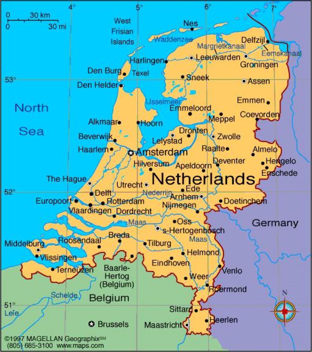 Heloohaloo 25 Elegant Nederlandse Steden Kaart